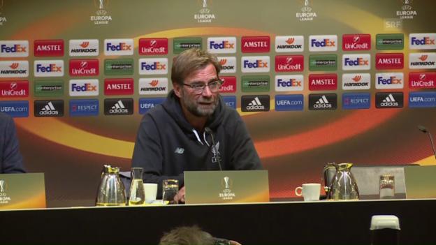 Video «Jürgen Klopp über seine Rückkehr nach Dortmund» abspielen