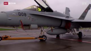 Video «Wartungsintensive F/A-18 Jets» abspielen