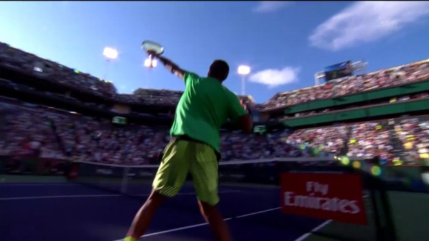 Video «Die Highlights bei Kyrgios - Djokovic» abspielen