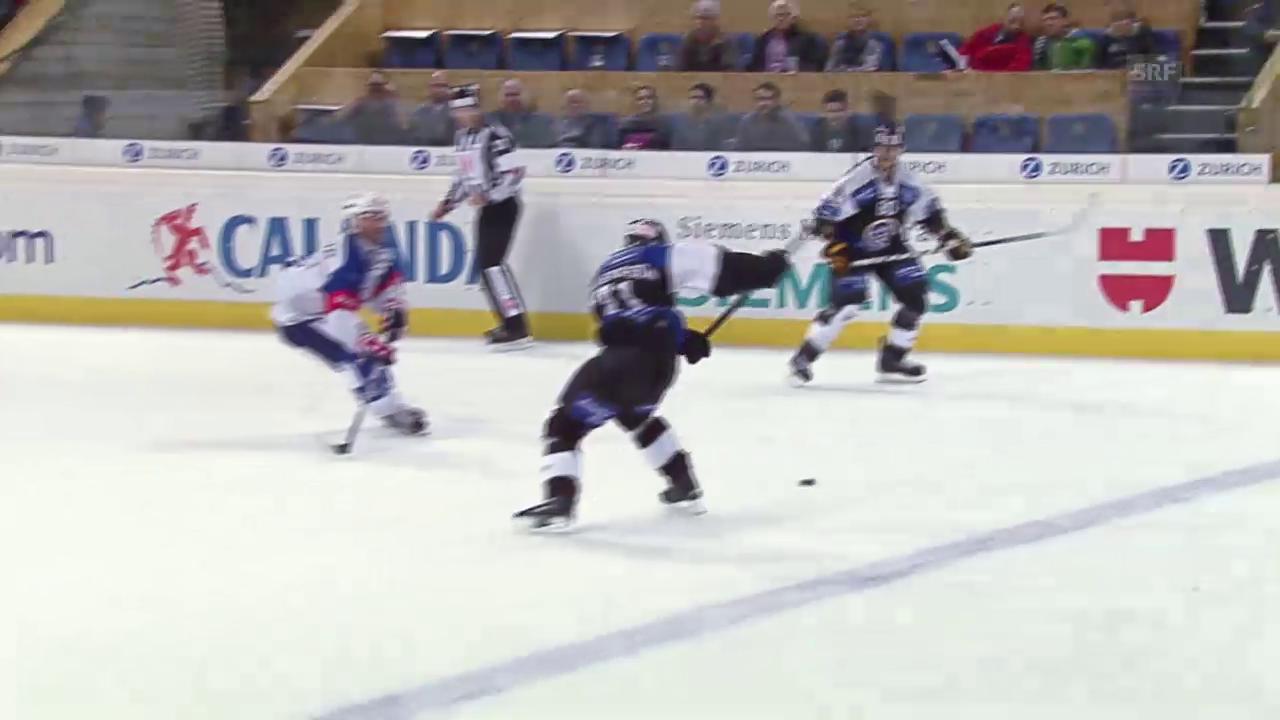 Eishockey: Spengler Cup, Lugano-Adler Mannheim, 3:3 Pettersson