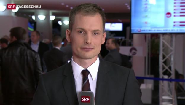 Video «Korrespondent Jonas Projer zum Wahlergebnis in Luxemburg» abspielen