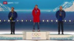 Video «Langlauf: Die Siegerehrung von Dario Cologna» abspielen