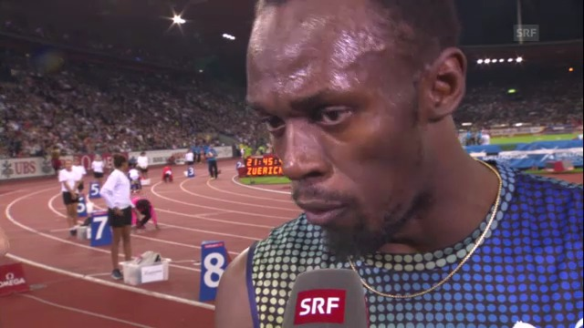 Usain Bolt im Interview («sportlive»)
