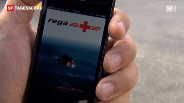 Video «Rega-App soll auch im Funkloch helfen» abspielen