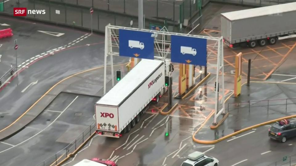 Visa-Erleichterungen für LKW-Fahrer in Grossbritannien