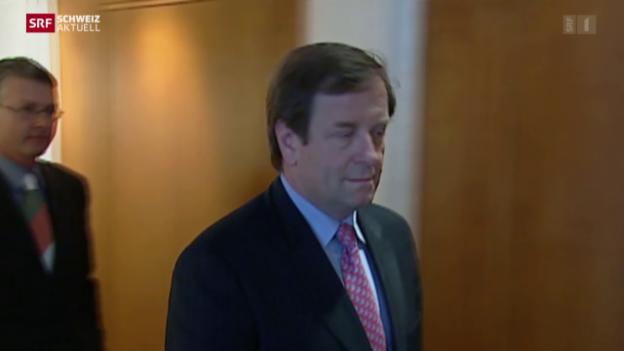 Video «Franz A. Zölch akzeptiert Verurteilung wegen Betrug» abspielen