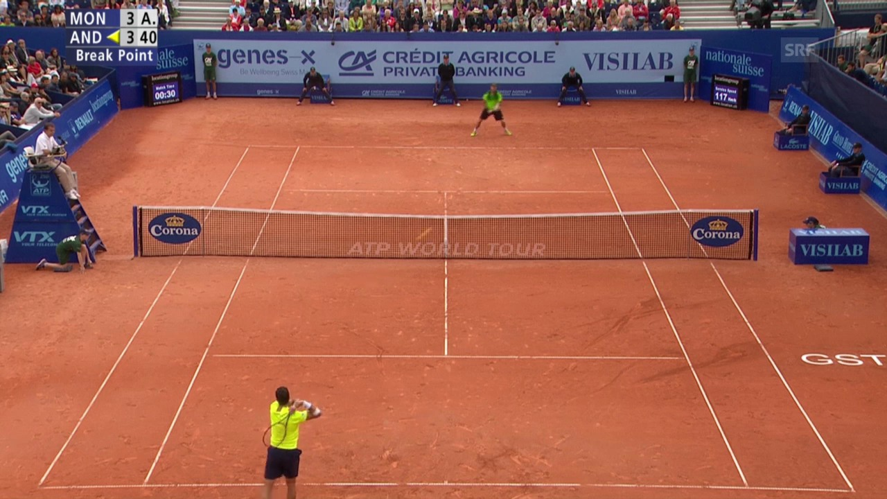 Tennis: ATP Gstaad, Live-Highlights Final