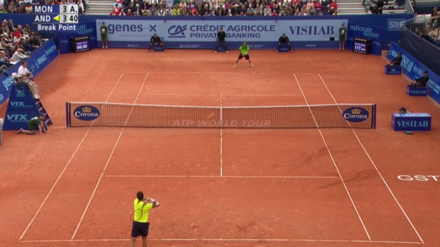 Video «Tennis: ATP Gstaad, Live-Highlights Final» abspielen