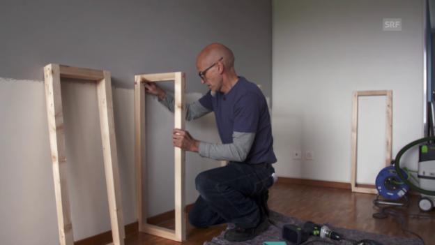 Video «Für Mietwohnungen: Montagen an die Wand» abspielen