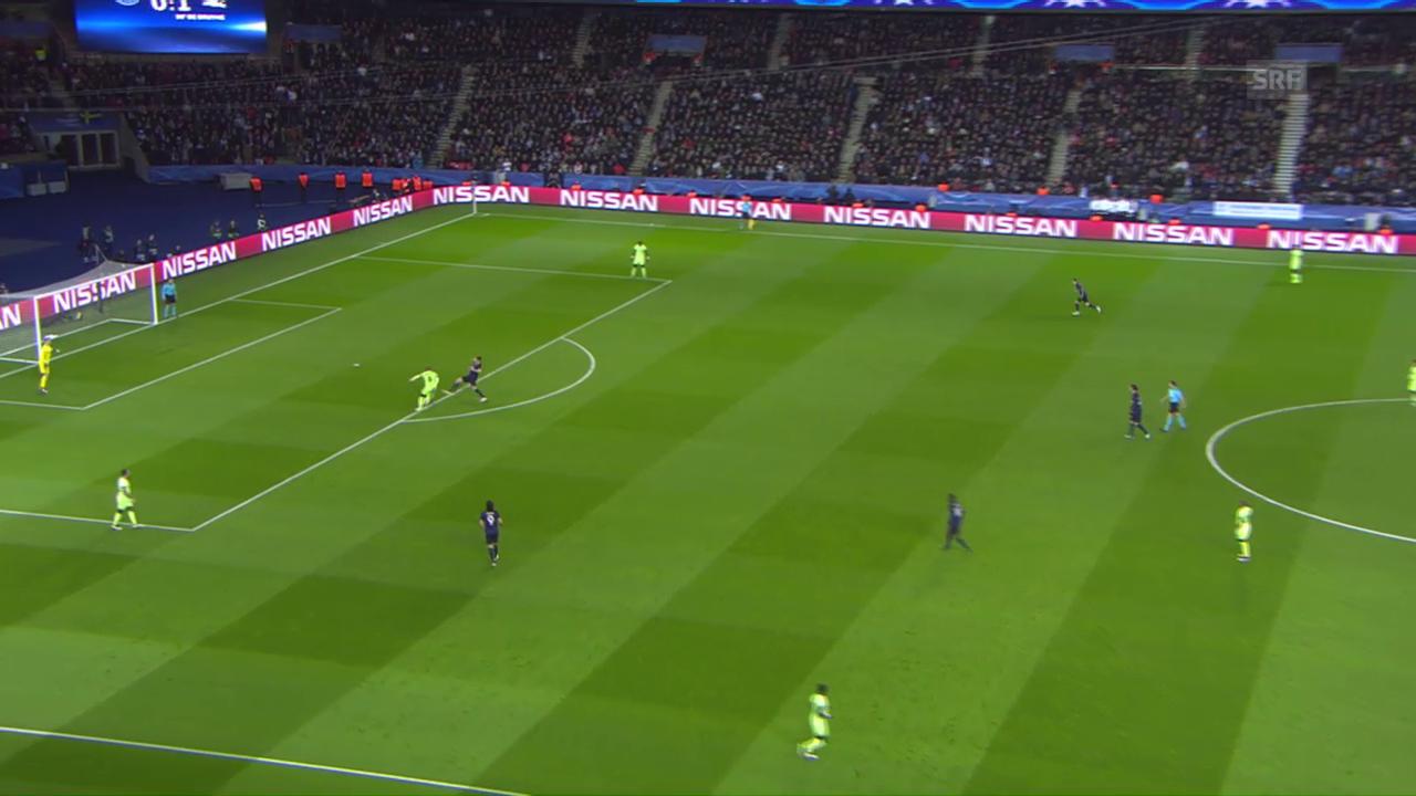 Der Fehler von Fernando ermöglicht Ibrahimovic das 1:1