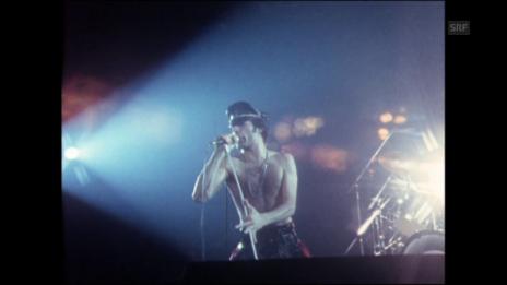 Video «Queen-Konzert im Hallenstadion (1979)» abspielen