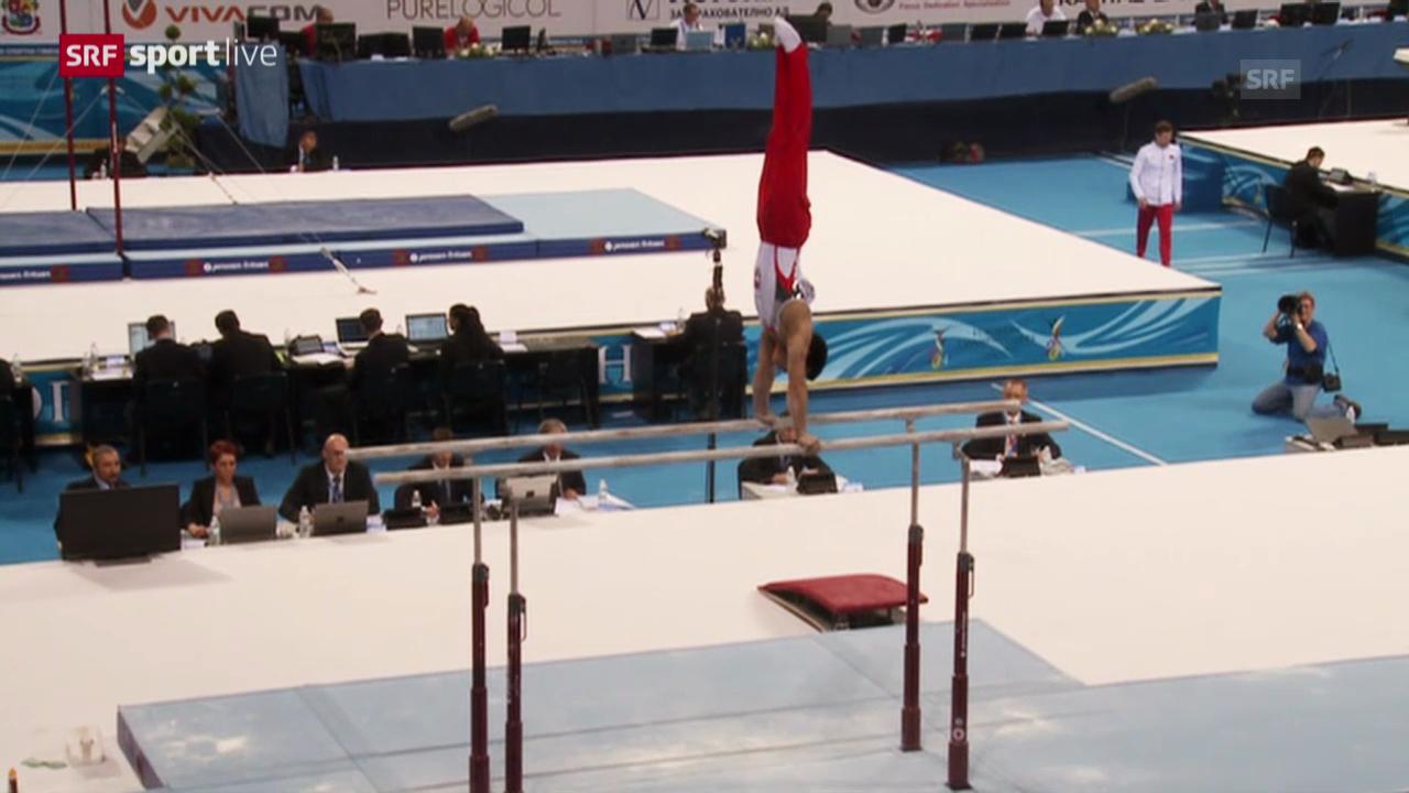 Kunstturnen: Qualifikation Team-Final