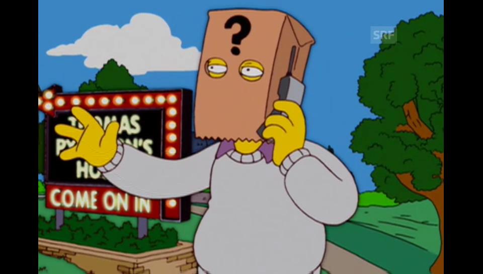 Thomas Pynchon (The Simpsons, Fox)