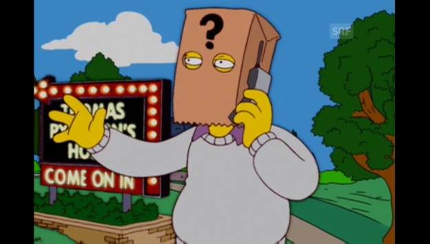 Video «Thomas Pynchon (The Simpsons, Fox)» abspielen