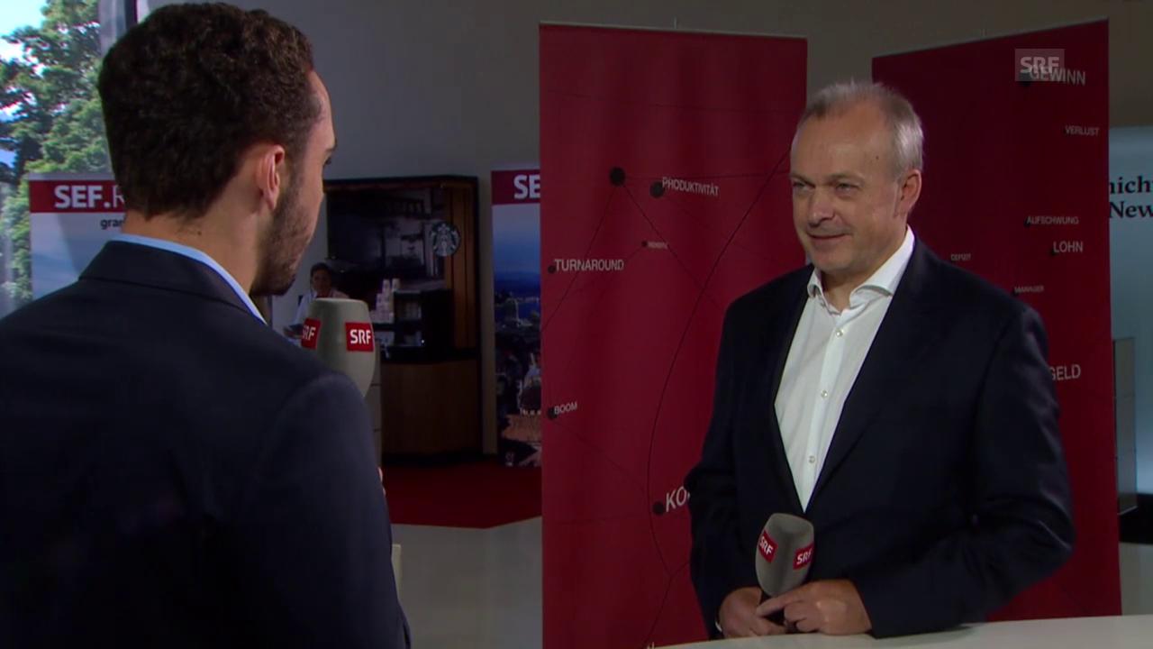 Noah Zygmont interviewt Swisscom-Chef Urs Schäppi