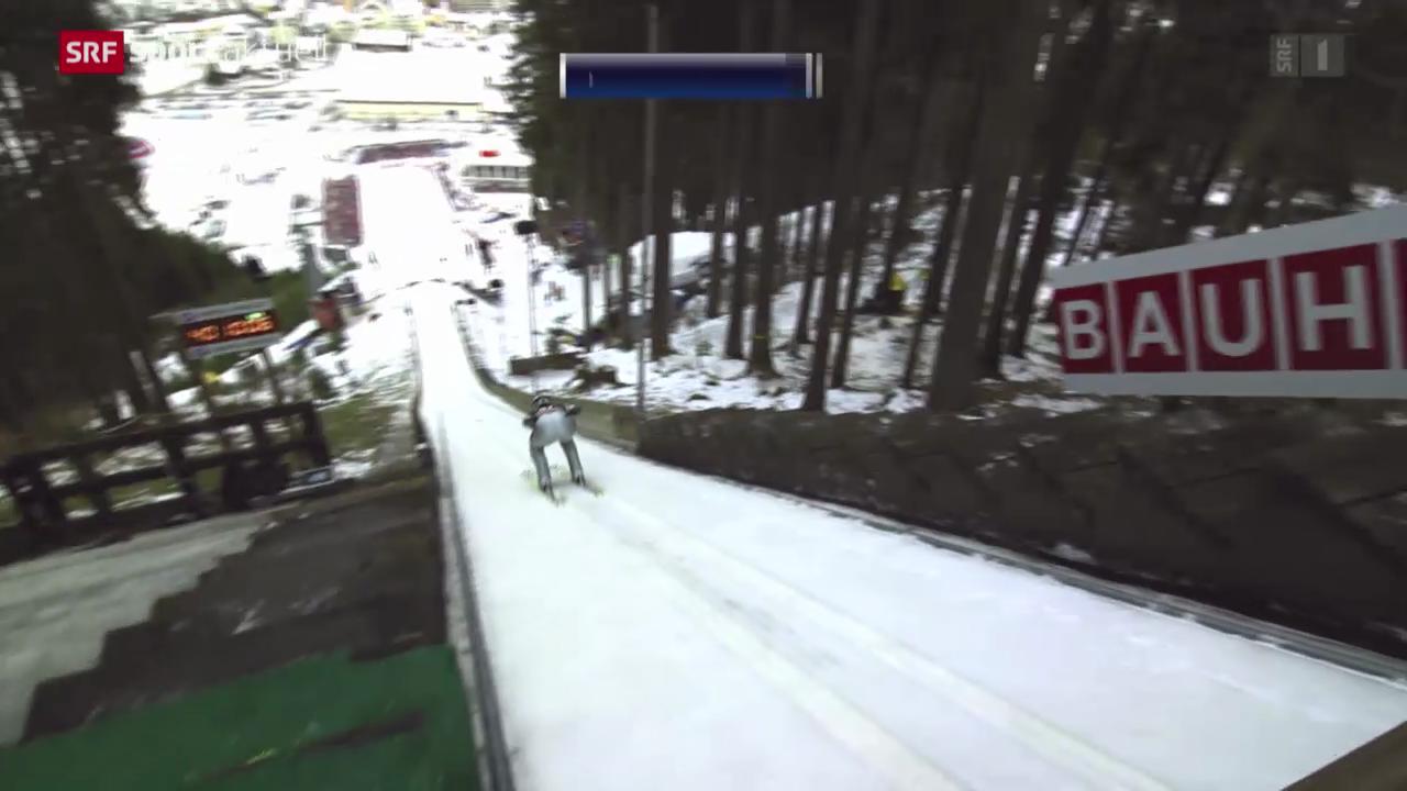 Skispringen: Weltcup in Engelberg