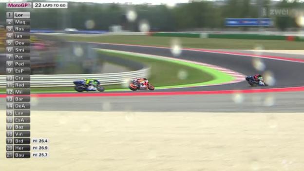 Video «Motorrad: GP von San Marino, MotoGP» abspielen