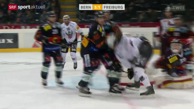 Video «Eishockey: Bern-Freiburg» abspielen