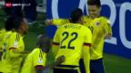 Video «Fussball: Copa America, Brasilien - Kolumbien» abspielen