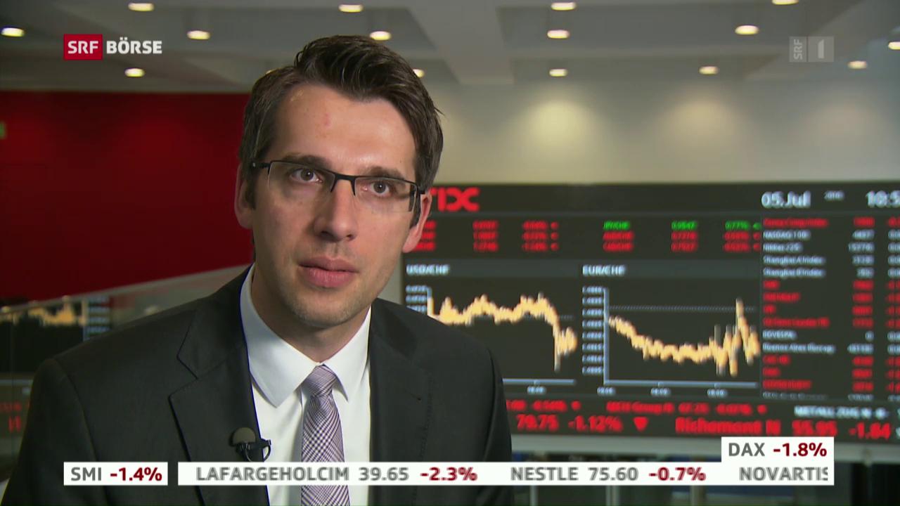 SRF Börse vom 05.07.2016