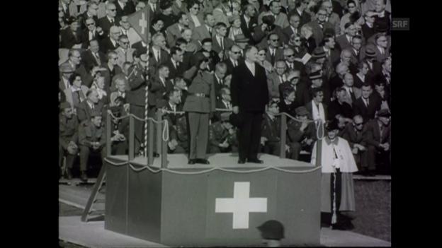 Video «Jahresrückblick (Schweizer Filmwochenschau, 27.12.1963)» abspielen