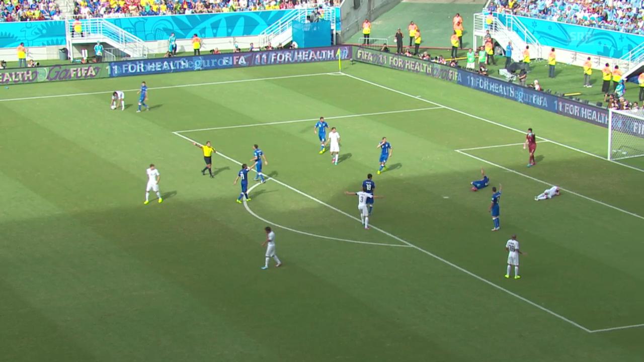 Italien - Uruguay: Die Live-Highlights