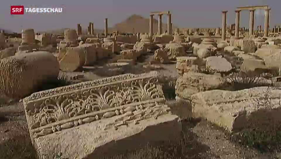 Erneut Kulturerbe durch IS bedroht