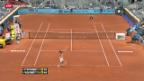 Video «Federers Sand-Start geglückt» abspielen