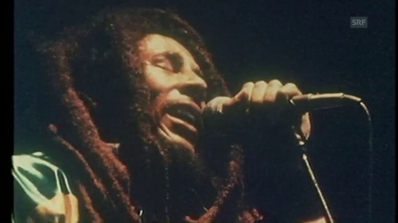Bob Marley in Zürich (Ausschnitt aus «Back Around the Clock»)