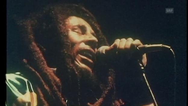 Video «Bob Marley in Zürich (Ausschnitt aus «Back Around the Clock»)» abspielen