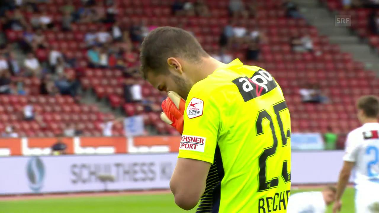 Der Bock von FCZ-Torhüter Yanick Brecher