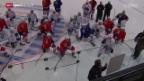 Video «Eishockey: Vorschau auf die Arosa Challenge» abspielen