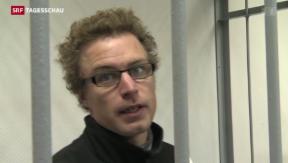 Video «Greenpeace-Aktivist Weber vor Gericht » abspielen