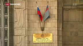 Video «Russland weist Diplomaten aus» abspielen