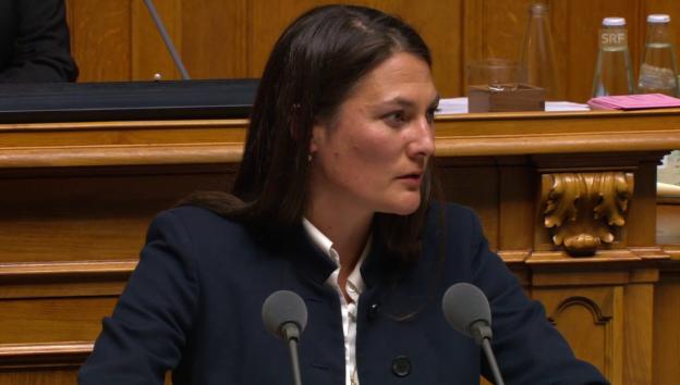 Video «Tiana Angelina Moser (GLP/ZH): «Artikel steht nicht isoliert in der Verfassung»» abspielen