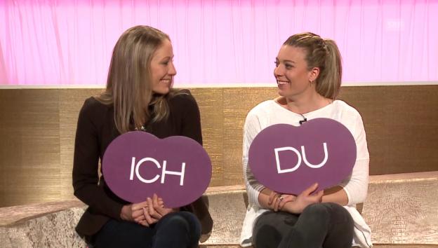 Video ««Ich oder Du» mit Daniela Ryf» abspielen