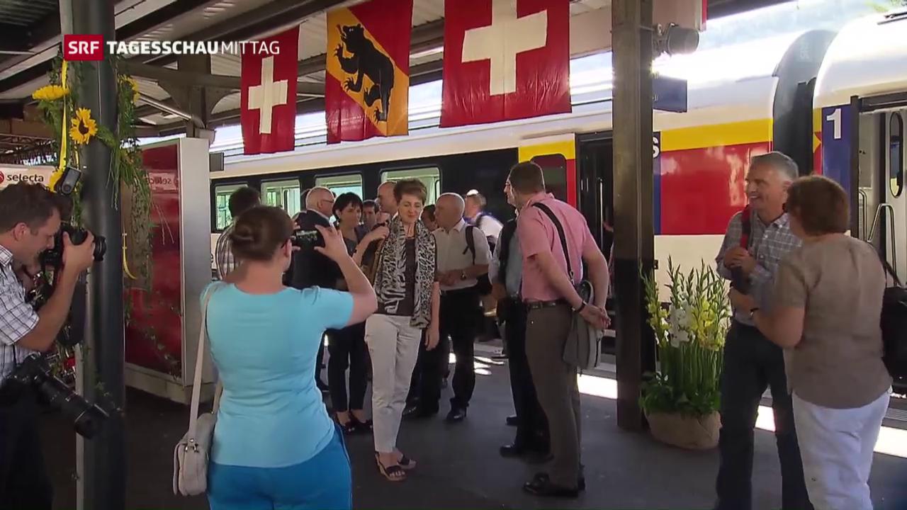 Bundesrat reist durch Bern