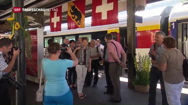 Video «Bundesrat reist durch Bern» abspielen