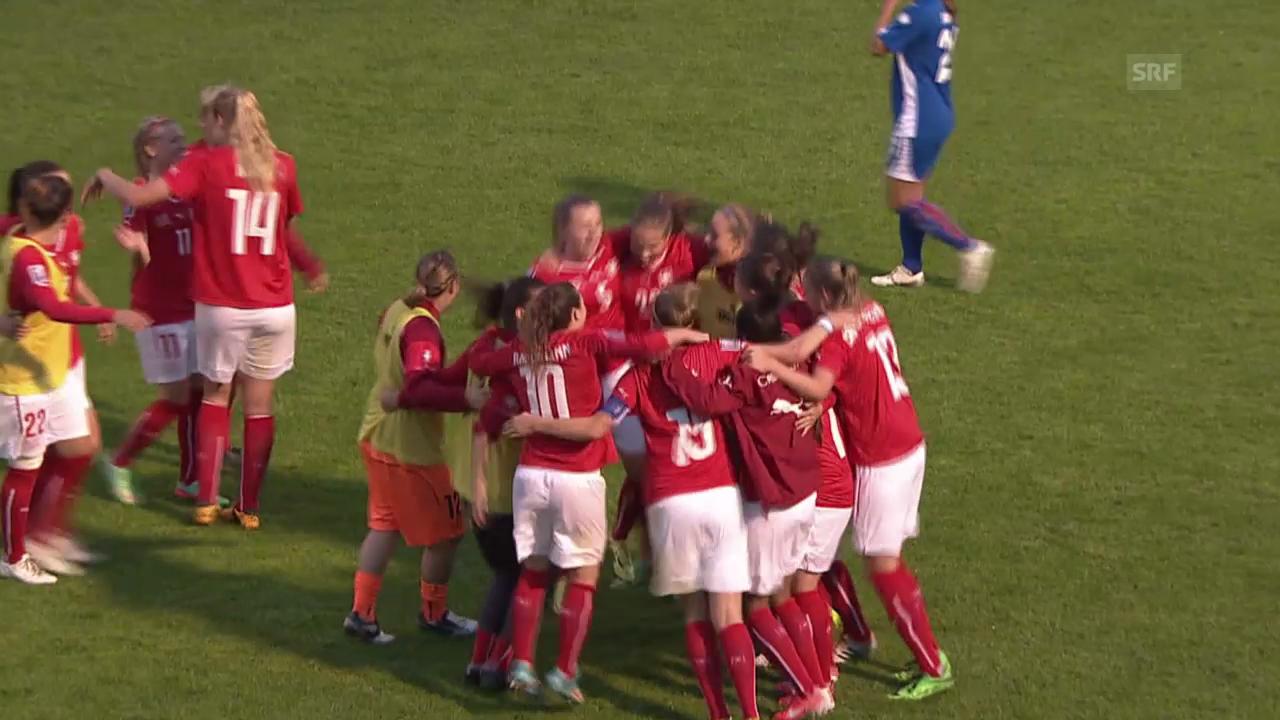 Fussball: Frauen-Nati vor der WM-Gruppenauslosung