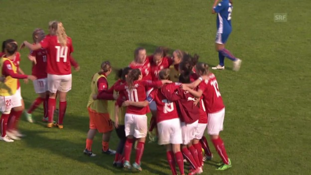 Video «Fussball: Frauen-Nati vor der WM-Gruppenauslosung» abspielen