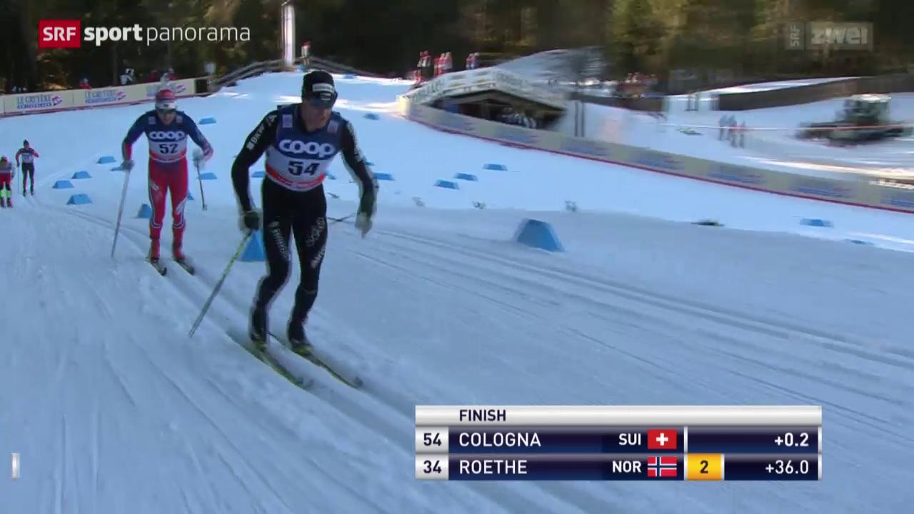 Langlauf: Weltcup in Toblach, 15 km Männer