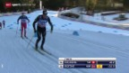 Video «Langlauf: Weltcup in Toblach, 15 km Männer» abspielen