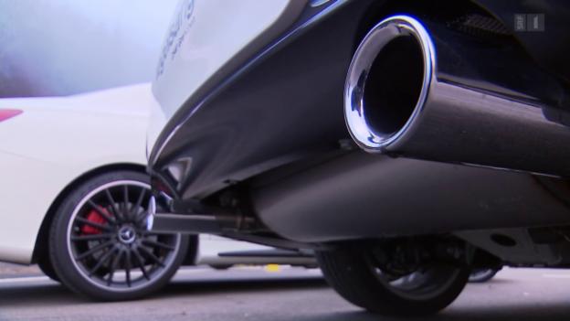 Video «Manipulierte Fahrzeugtests: Auch beim Lärm wird getrickst» abspielen