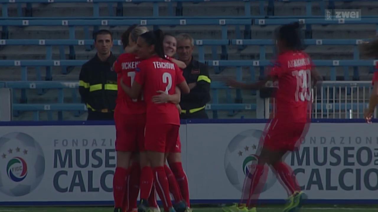 Fussball: EURO-Quali der Frauen in Italien