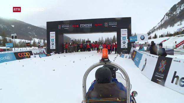 Laschar ir video «50avel maraton engiadinais – sin il char da la scua»