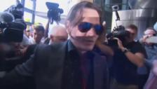 Video «Johnny Depp und Amber Heard vor Gericht (unkomm.)» abspielen