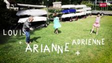 Laschar ir video «Adrienne, Arianne e Louis»