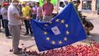 Video «Merkel reist nach Kiew» abspielen