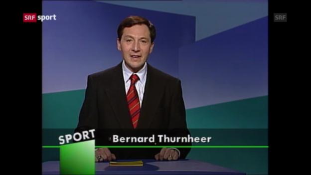 Video «Jubiläum: 40 Jahre Beni Thurnheer («sportpanorama»)» abspielen