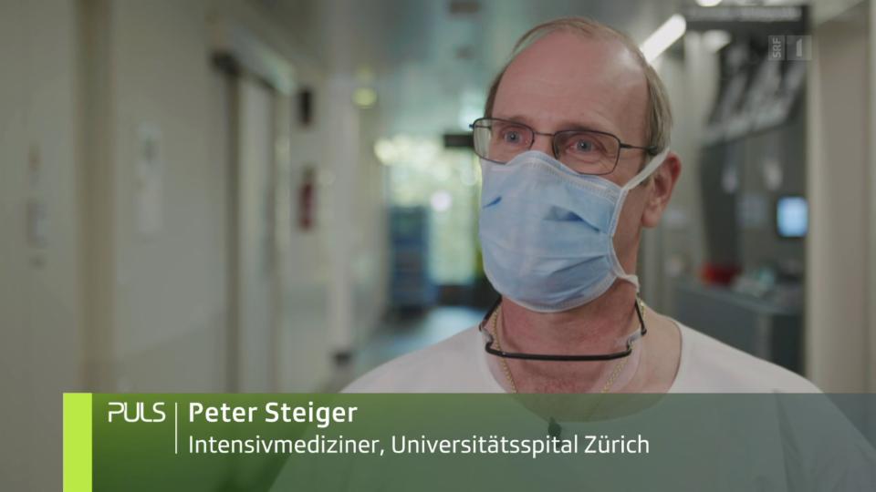 Peter Steiger am 14. September: «Der Lockdown hat etwas gebracht, weil die Leute sich an die Schutzmassnahmen halten mussten. Das hat die Welle gebremst.»